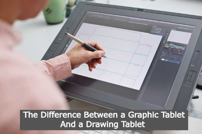 Difference Between a Graphic Tablet And a Drawing Tablet